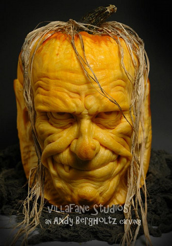 frankenstein pumpkin by frankenstein pumpkin by Andy Bergholtz